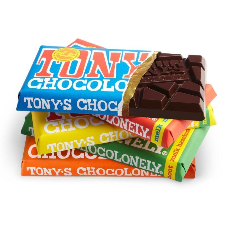 Tony Chocolonely bars