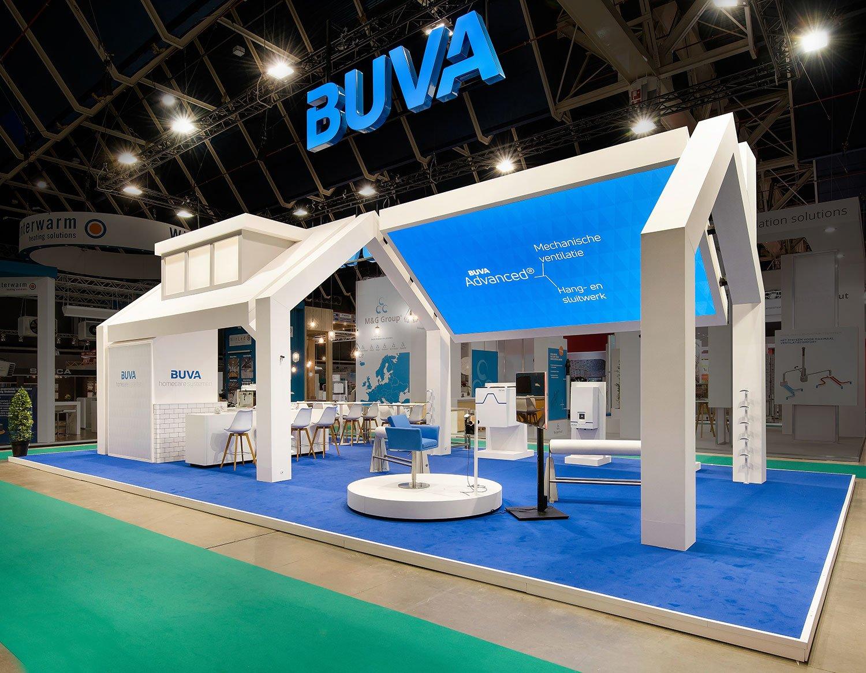 BUVA interactive stand