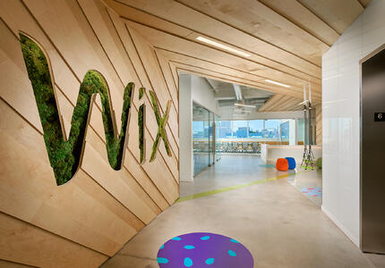 Wix office biophilic design