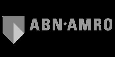 ABN amro logo lichtgrijs