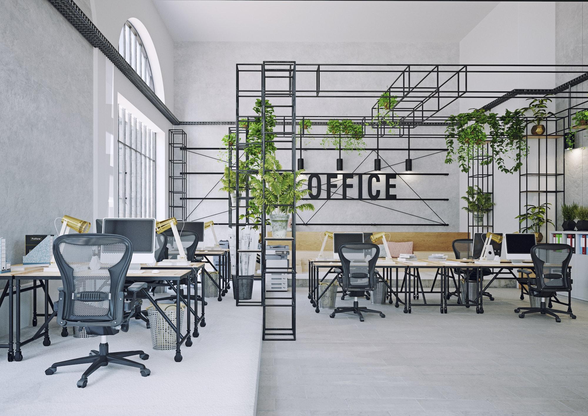 Flexibele kantoorinrichting