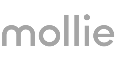 Mollie logo lichtgrijs def