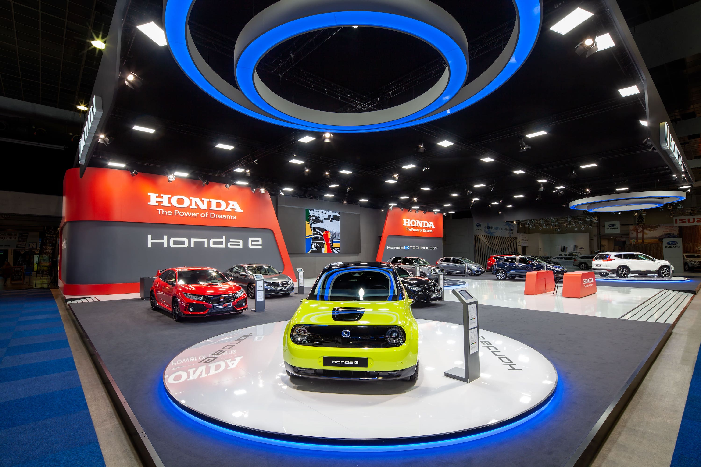 Exhibition stand Honda Cars Autosalon 2020 Brussel