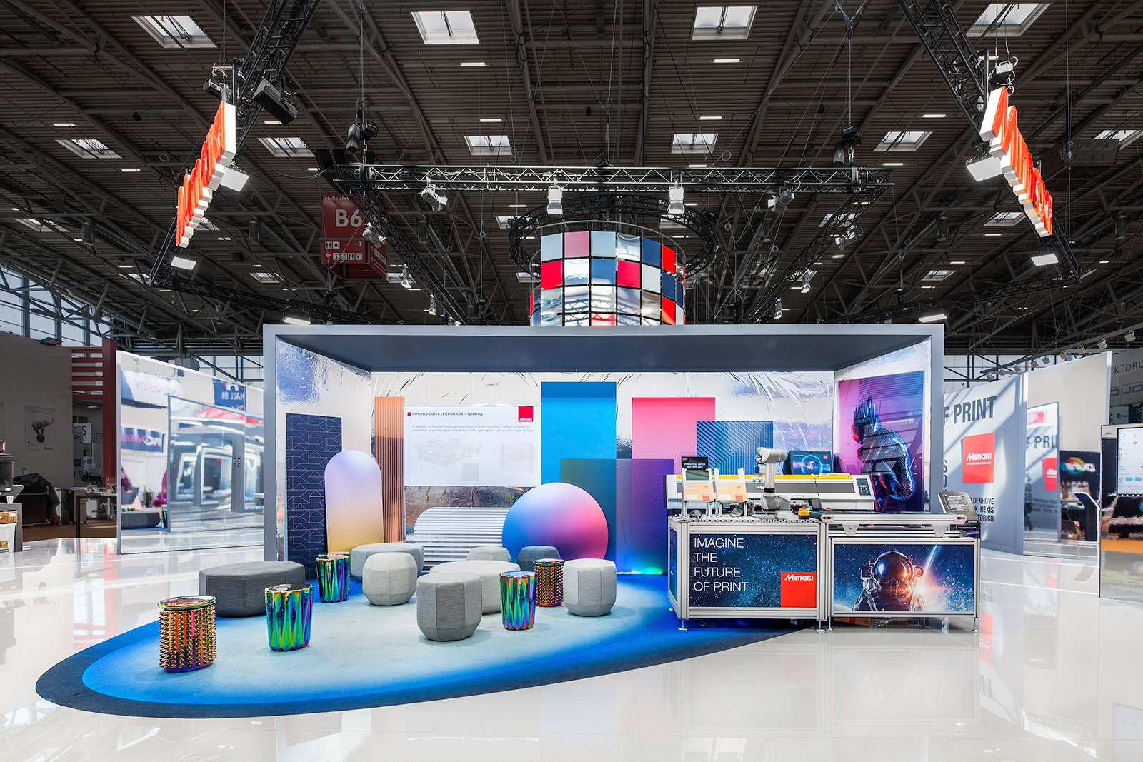 KOP Expo - Mimaki - Fespa 2019 - München - Stand Photography #2605(lr)