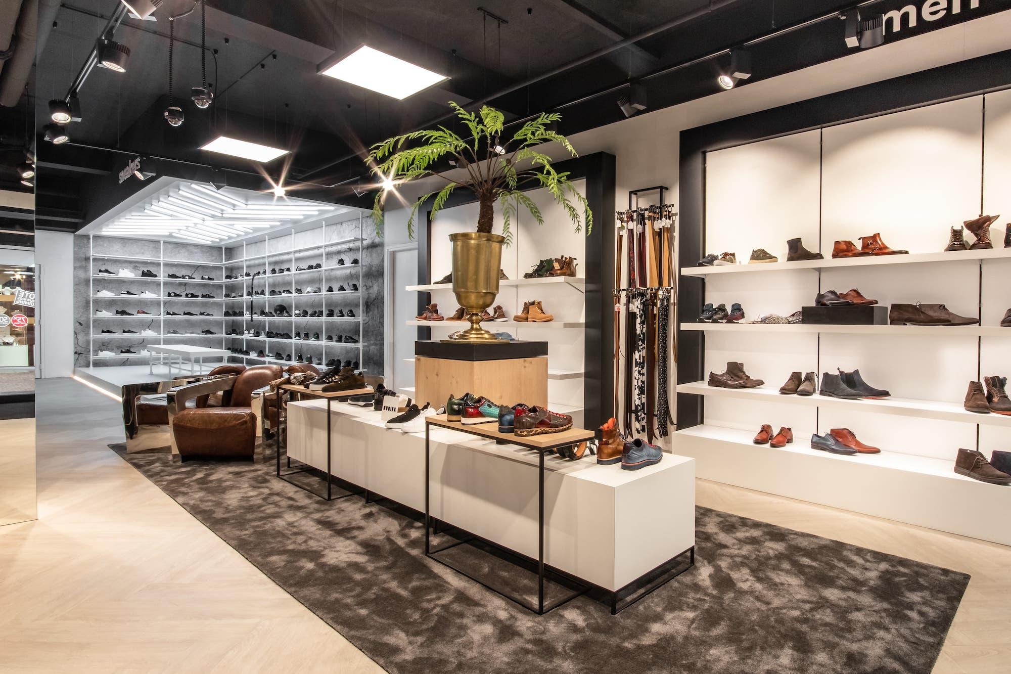Shop interior Oxener shoes