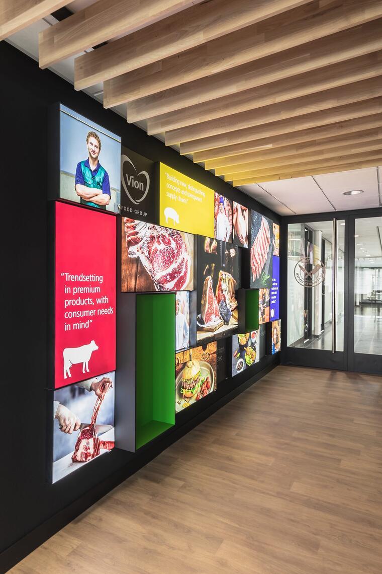 Experience center van VION Food Group