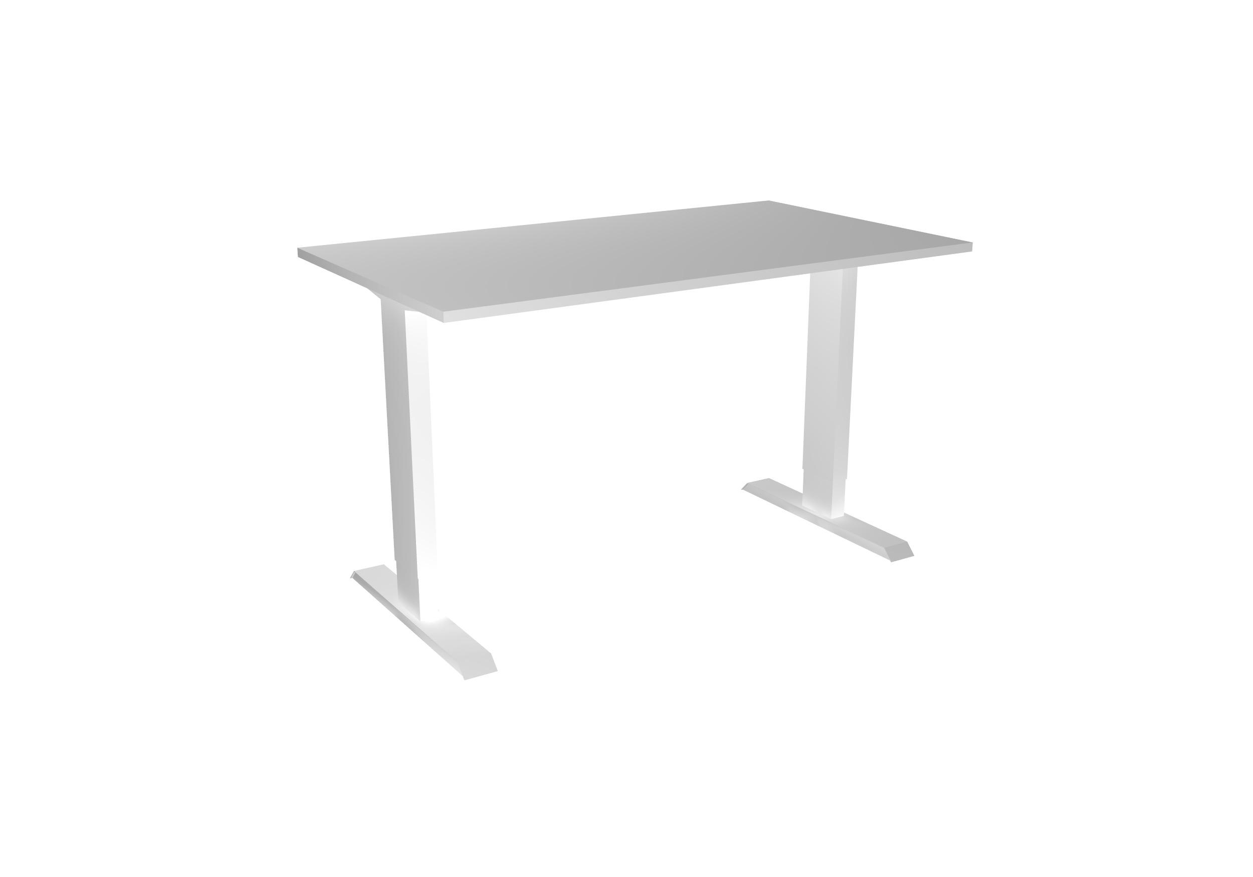 Desk Basic - Hoog - wit