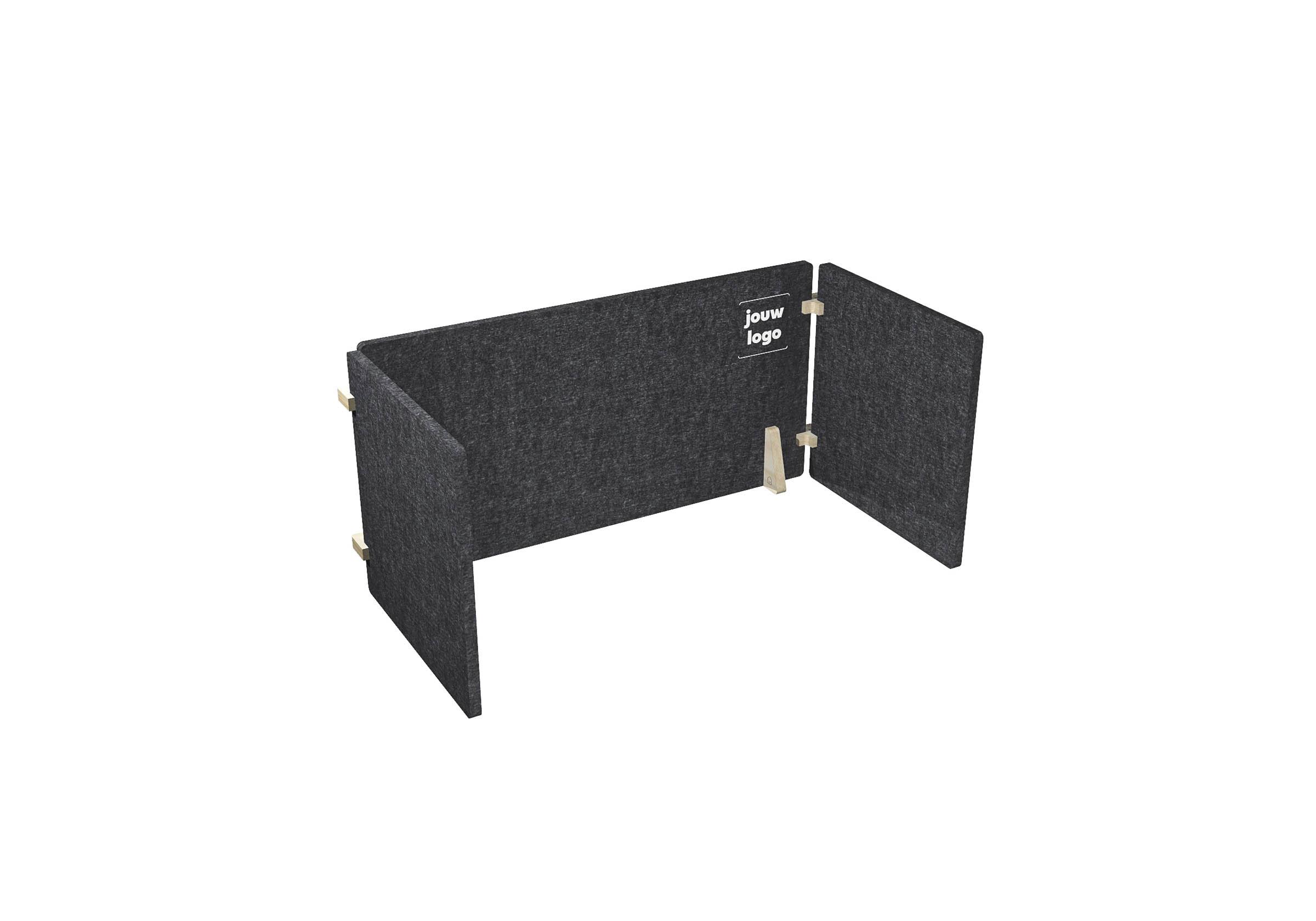 Workhub Acoustic Desk U - 120 - #xx0-2