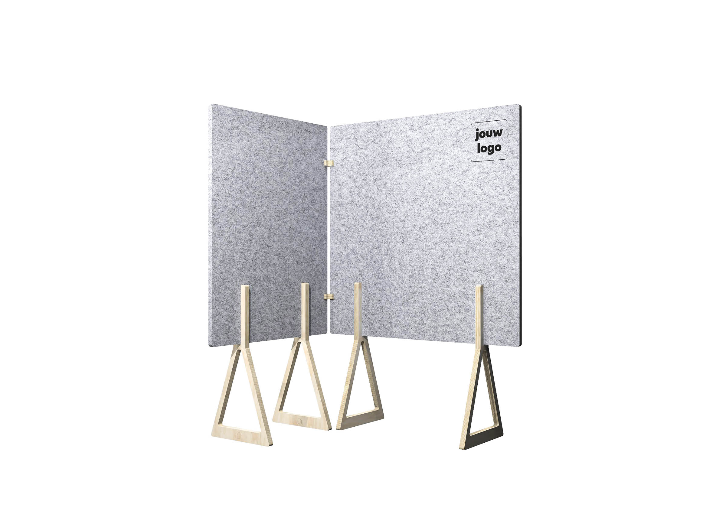 Workhub Acoustic Wall Square Corner - #xx2